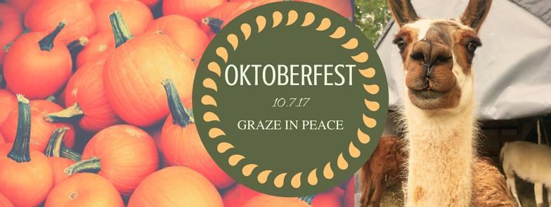 Oktoberfest at Graze in Peace Farm Animal Rescue